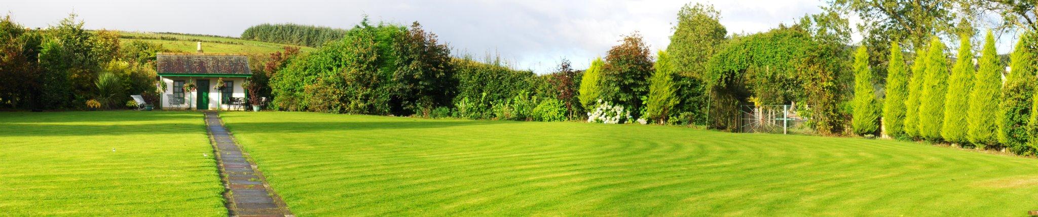 Camping Northern Ireland - Big Open Garden
