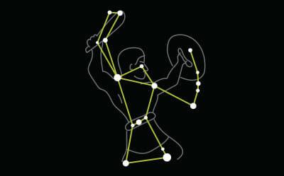 Star constellation Orion